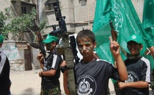 "Hamas ""camp activities"" for children"