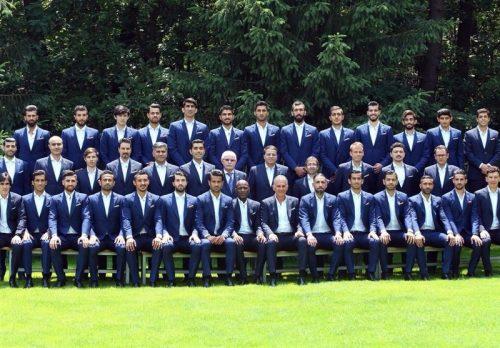 The Iranian players