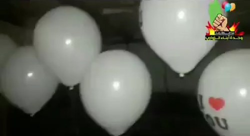 Incendiary balloons