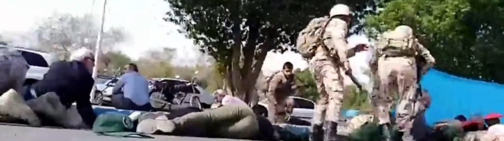 Sunni and Arab Opposition Attack the Iranian Regime's Security Forces and Critical Infrastructure