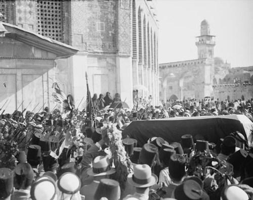 Funeral of Hussein Bin Ali