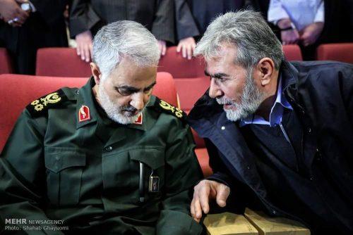 Ziad Nakhala and Iran's Gen. Qassem Soleimani
