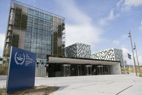 The International Criminal Court's headquarters