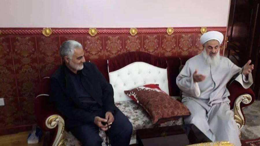 Iran's Quds Force Commander Visits Iraq to Bring the Country under Iranian Influence