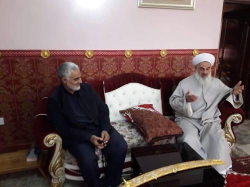Soleimani and Sheikh Mahdi al-Sumaydai
