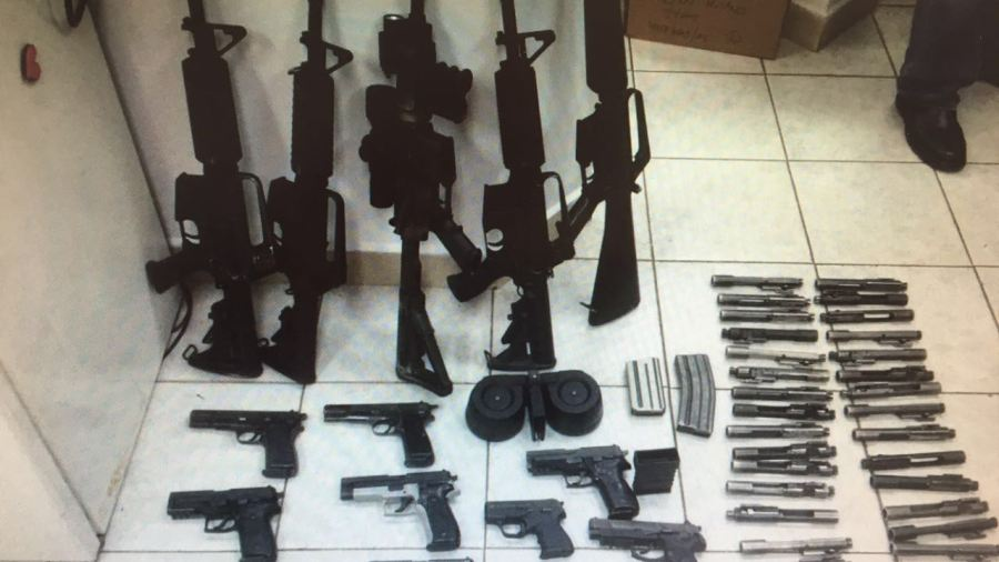 Weapons Smuggling from Jordan into the West Bank