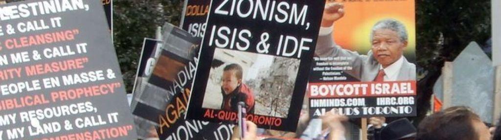 "Oshawa BDS activist: ""Zionists are Nazis hiding behind the Jewish faith"""