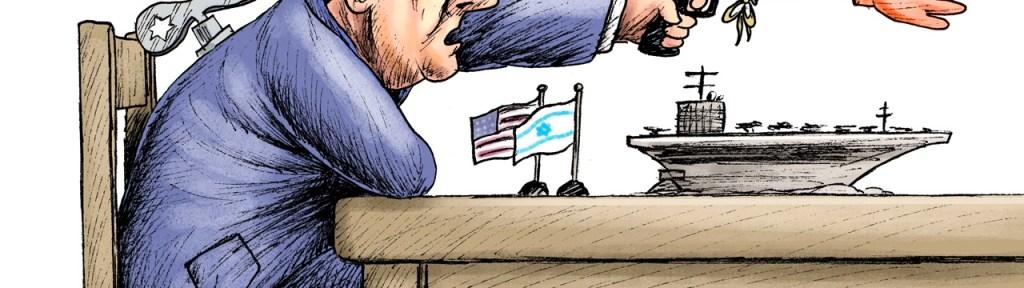 Iranian President Accuses Israel of Being behind U.S. Pressure on Iran