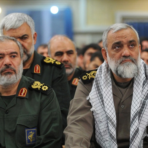 Are the Changes in the Iranian Revolutionary Guard Preparations for Conflict?
