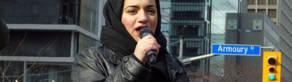 """Nasim Asgari: """"Death to the Zionist state and colonial 'Canada'"""""""