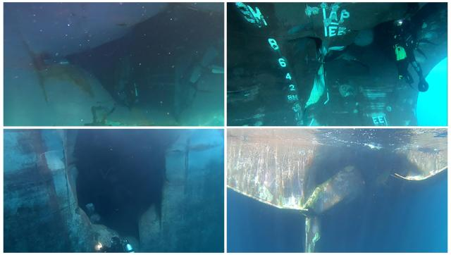 Underwater sabotage to four tankers