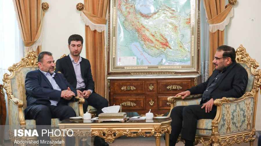 After meeting with Khamenei, Hamas Delegation Moved on to Iran's Security Head