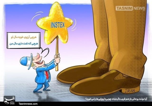 Instex cartoon