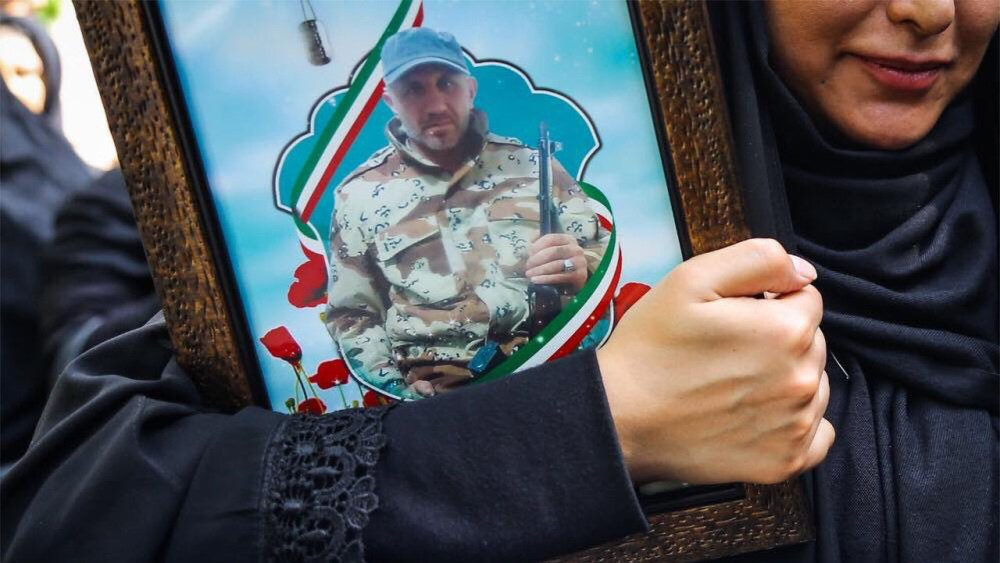 "Iran Admits a Revolutionary Guard Commander Killed in an ""Israeli Attack"" in Iraq on July 19"