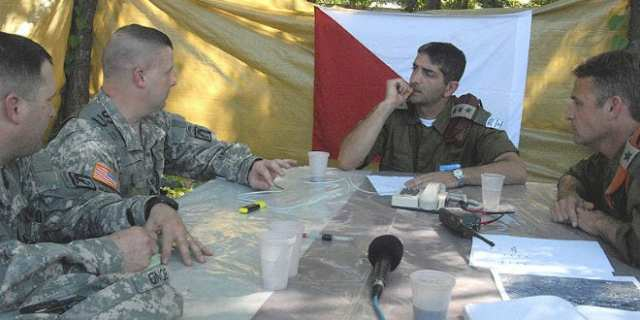 IDF and U.S. Army commanders