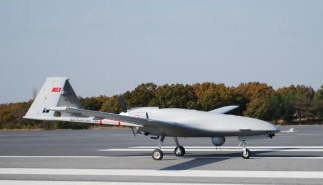 Bayraktar weapons-capable drone