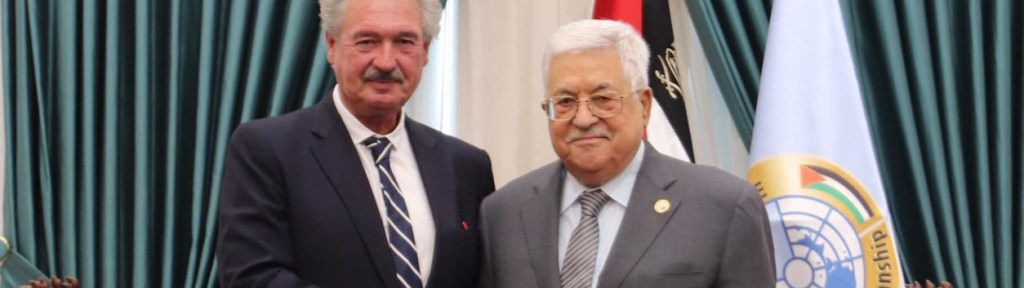 The New European Initiative for Palestinian Statehood