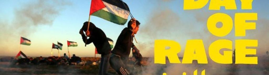 "First ""Day of Rage"" in Canada organized by the Palestinian Youth Movement"