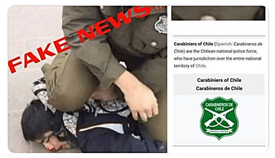 Photograph claiming that it showed an Israeli soldier brutalizing a Palestinian