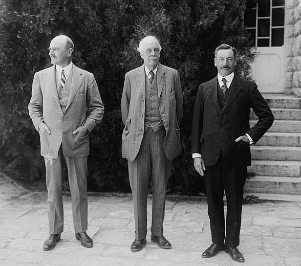 Lord Allenby, Lord Balfour and Sir Herbert Samuel