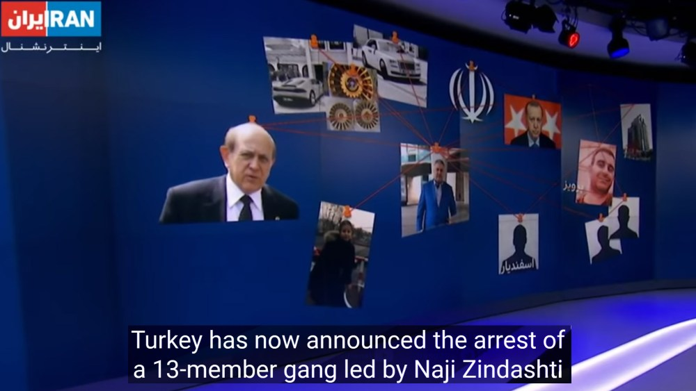 Iranian Intelligence Uses International Crime Organizations to Eliminate Opposition Activists and for Narco-Terrorist Activity