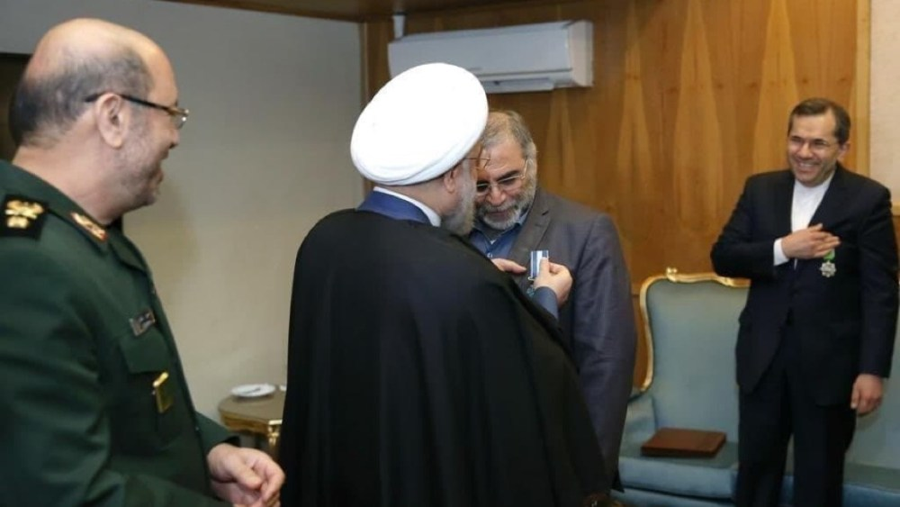 Why Was Iran's Nuclear Expert Fakhrizadeh Secretly Decorated After the JCPOA Went into Effect?