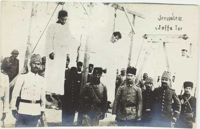Executions in Jerusalem in 1917