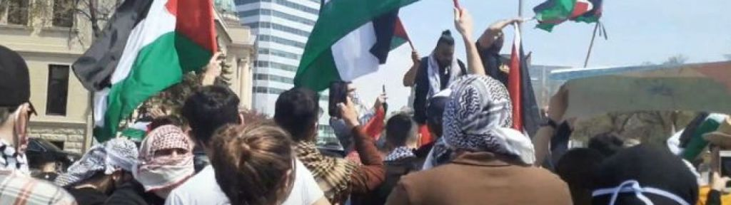 """B'nai Brith: """"Get Lost, You Son of a Jew!"""" chanted by pro-Palestine protesters in Winnipeg"""