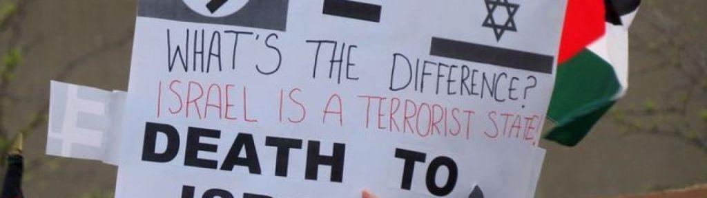 Toronto Pro-Palestinian protesters liken Israel to Nazis