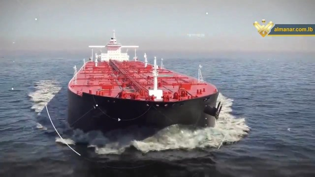An oil tanker on the way to Lebanon
