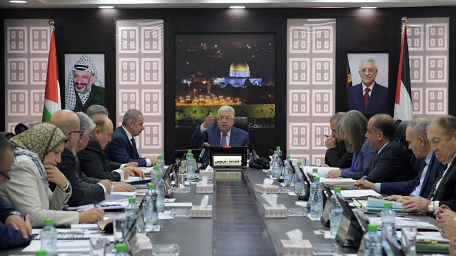 Why Did the PA's Mahmoud Abbas Meet with Defense Minister Benny Gantz?