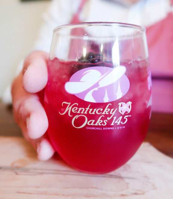 Kentucky Oaks Lily Cocktail - JCP Eats