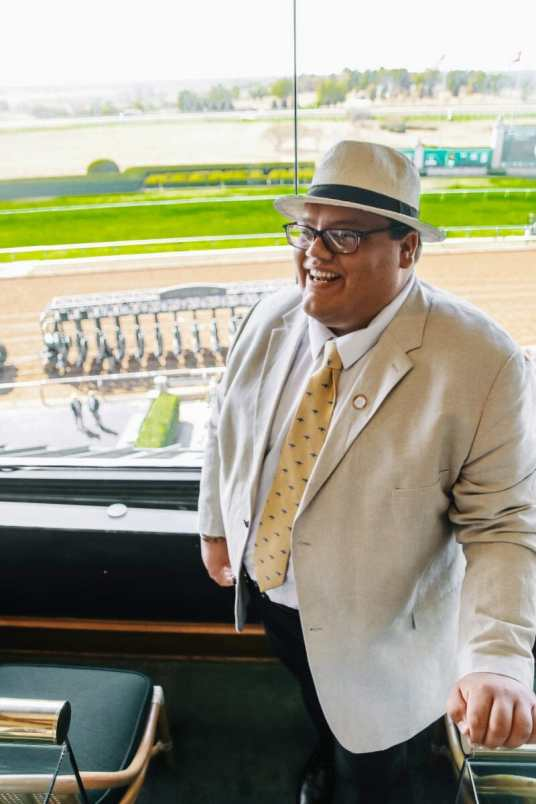 Taking the New 2020 Toyota Avalon to the Fall Meet at Keeneland, JC Phelps of JCP Eats, a Kentucky-based Food, Travel, and Lifestyle Blog