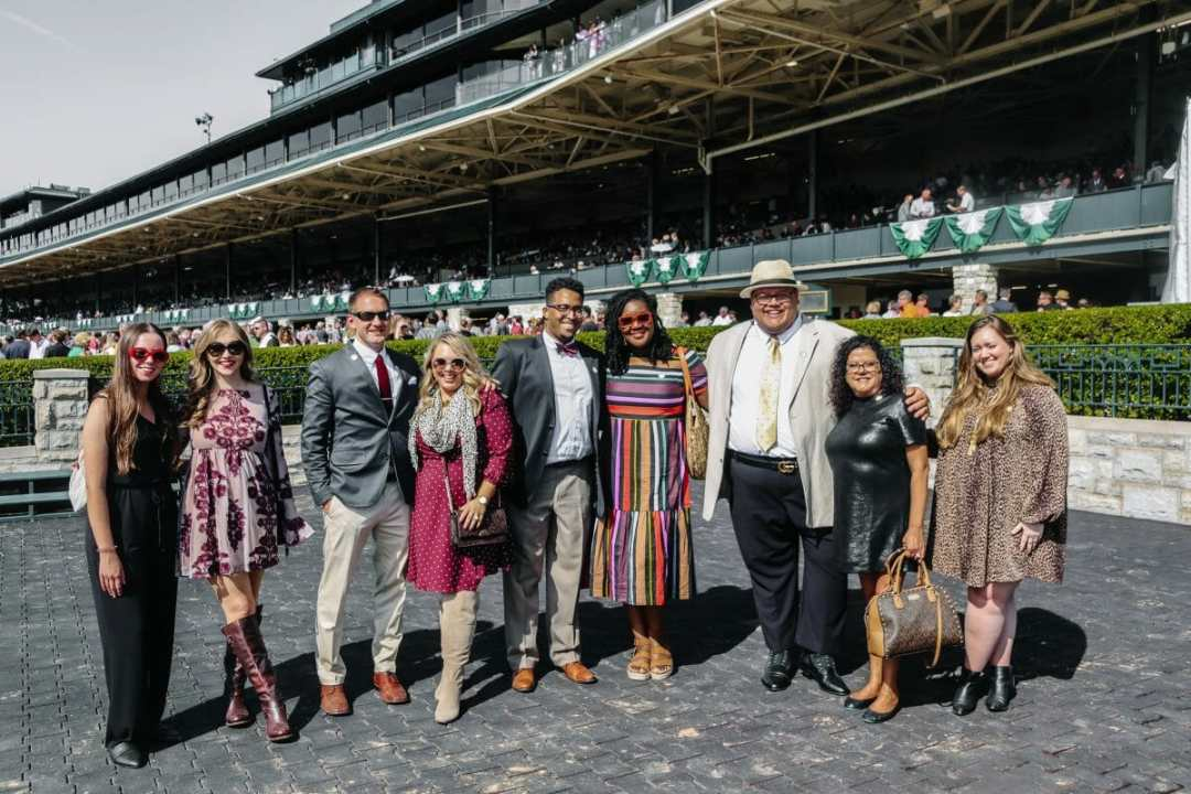 Taking he New 2020 Toyota Avalon to the Fall Meet at Keeneland, JC Phelps of JCP Eats, a Kentucky-based Food, Travel, and Lifestyle Blog