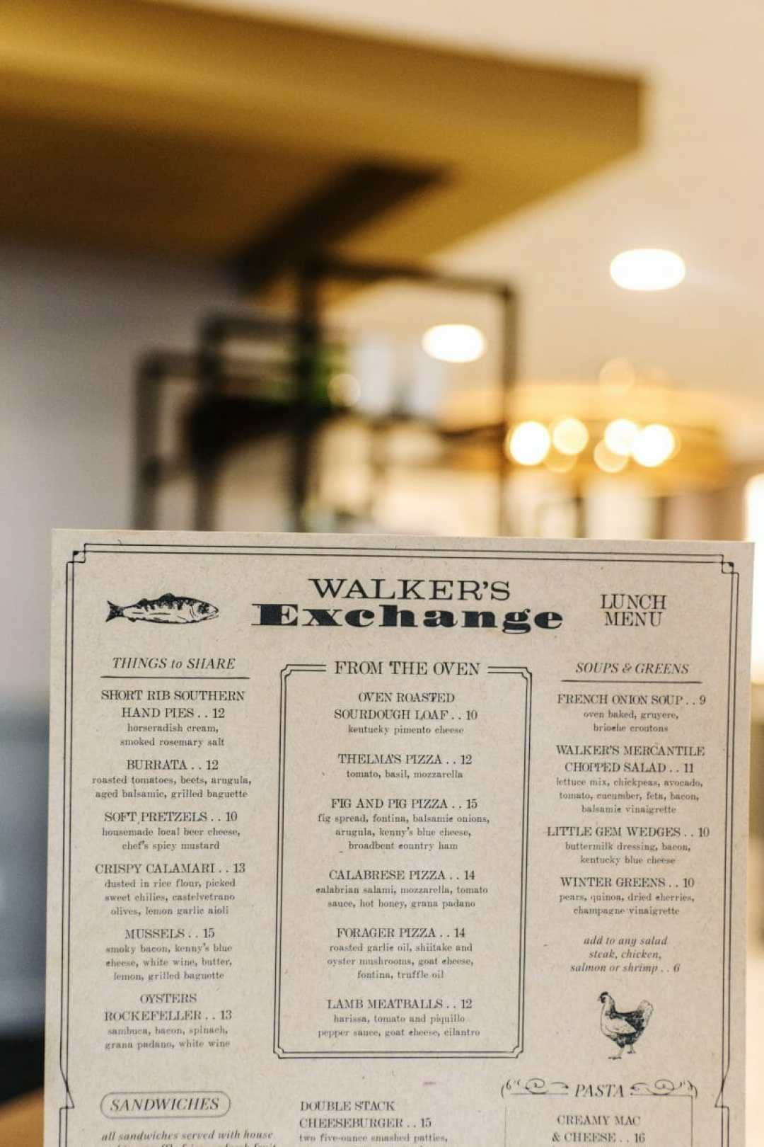 Dining at Walker's Exchange, the new restaurant on the second floor of the Galt House Hotel in Downtown Louisville; by JC Phelps of JCP Eats