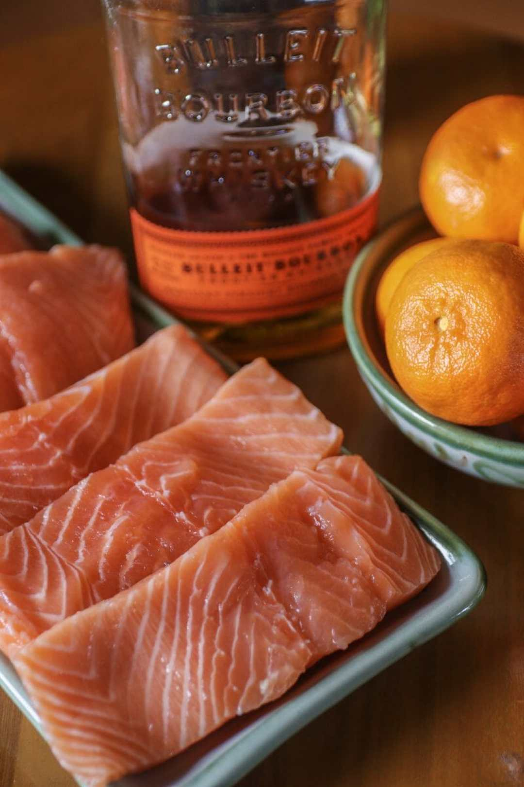 Kentucky Bourbon + Mandarin Orange Juice Glazed Salmon - A Recipe by JC Phelps of JCP Eats, a Kentucky-based Food, Travel, and Lifestyle Blog