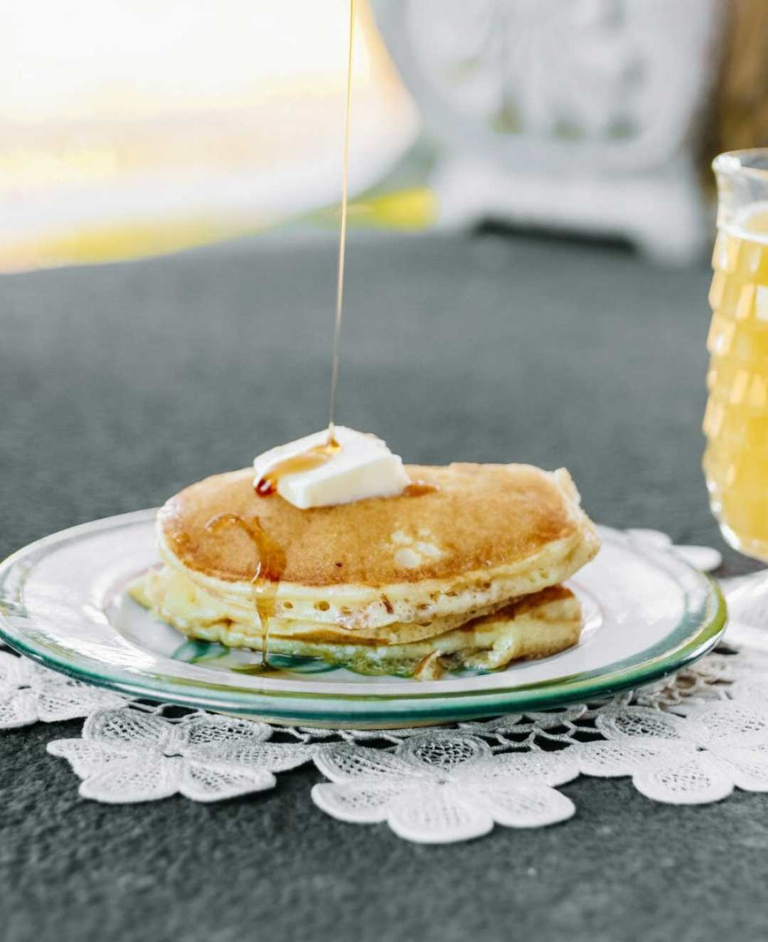 The Best Buttermilk Pancakes: Jude's Kentucky Buttermilk Pancakes by JC Phelps of JCP Eats, a Kentucky-based food, travel, and lifestyle blog