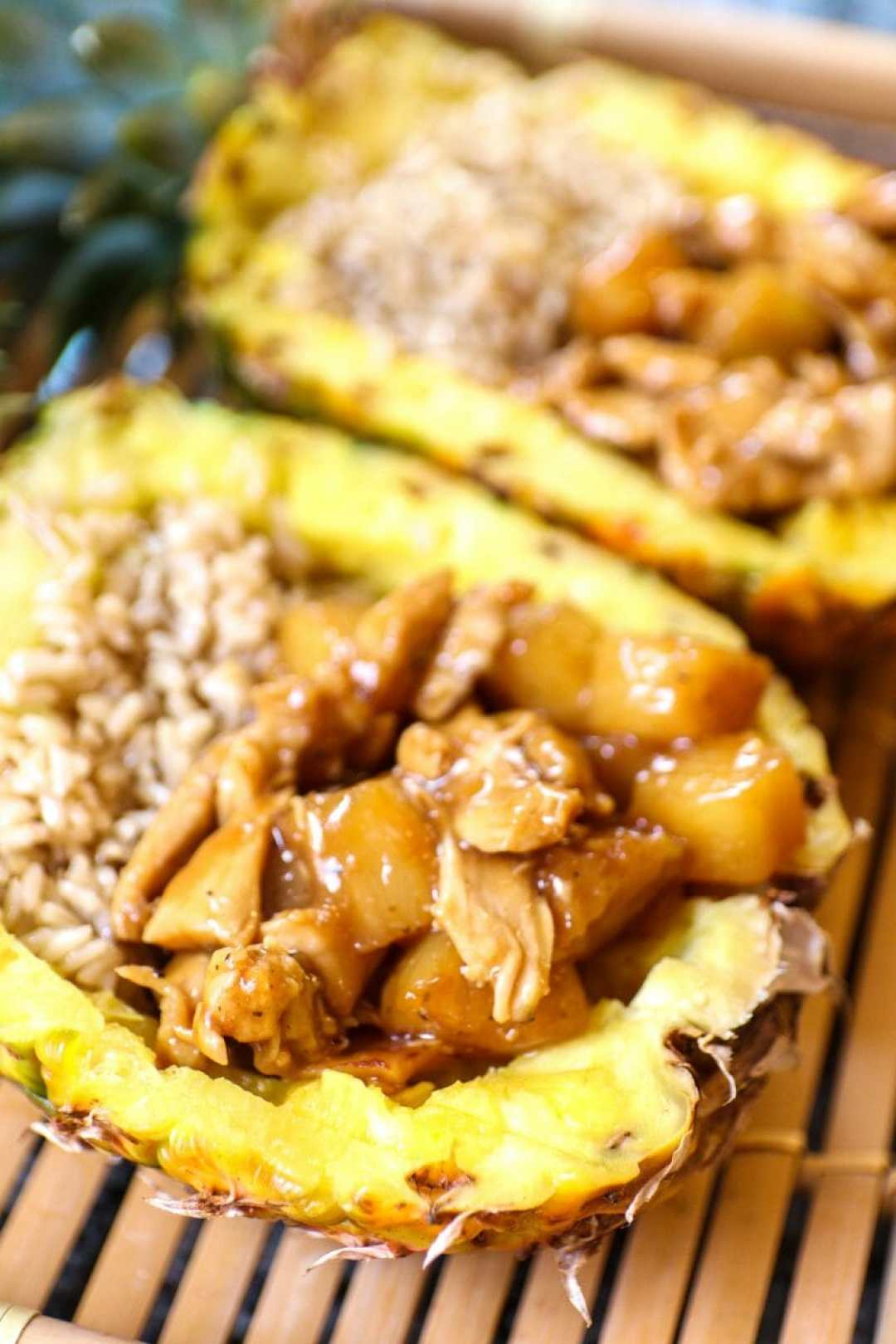 Pineapple chicken and rice recipe by JC Phelps of JCP Eats, a Kentucky based food, travel, and lifestyle blog