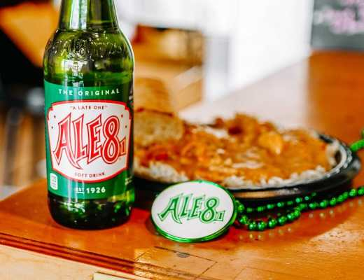 Where to Celebrate Mardi Gras in Kentucky by JC Phelps of JCP Eats, a Kentucky-based food, travel , and lifestyle blog. Ale 8 One