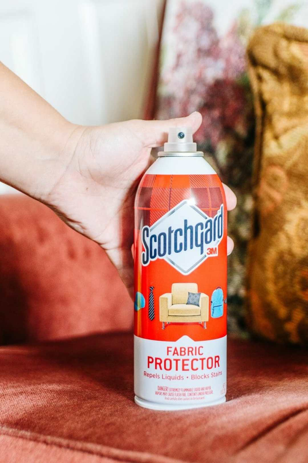 Spring Cleaning With 3M Scotch-Brite® & Scotchgard™ by KY Blogger JC Phelps