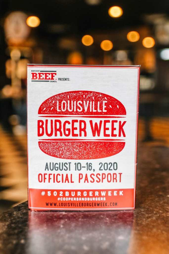 Louisville Burger Week Passport 2020
