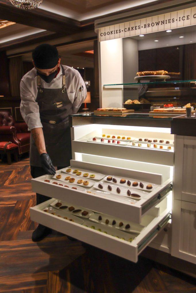 Dessert Cart, Matt Winn's Steakhouse, Churchill Downs, Louisville KY