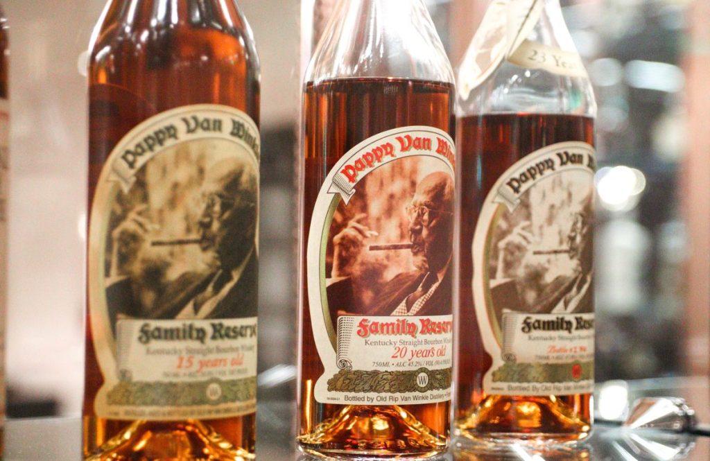 Pappy Van Winkle Bourbon, Matt Winn's Steakhouse, Churchill Downs, Louisville KY