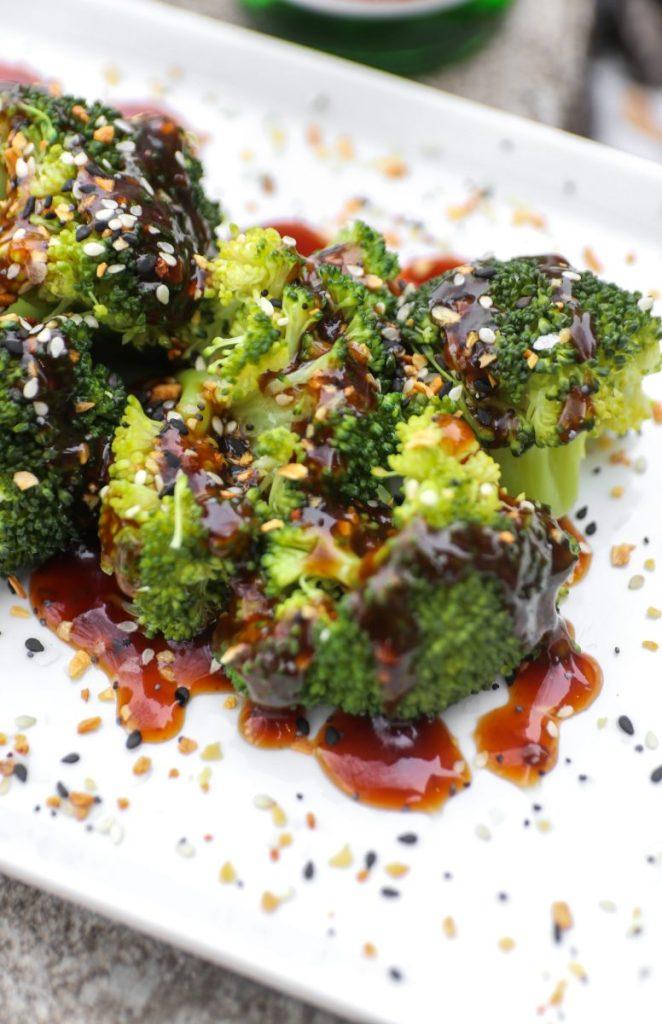 Broccoli With Homemade Teriyaki Sauce