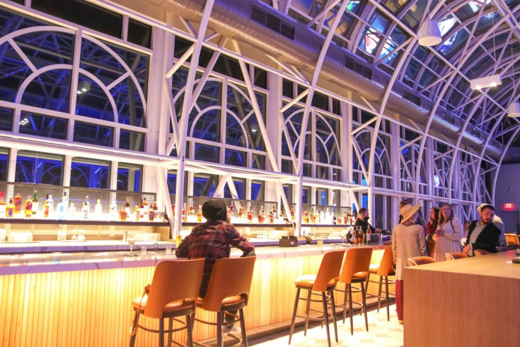 The Conservatory Bar Galt House Hotel, The Longest Bar In Louisville