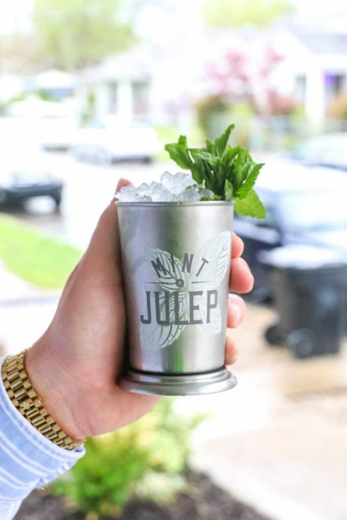 Gin Mint Julep Kentucky Derby Party Cocktails