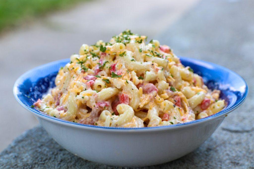 Pimento Cheese Pasta Salad