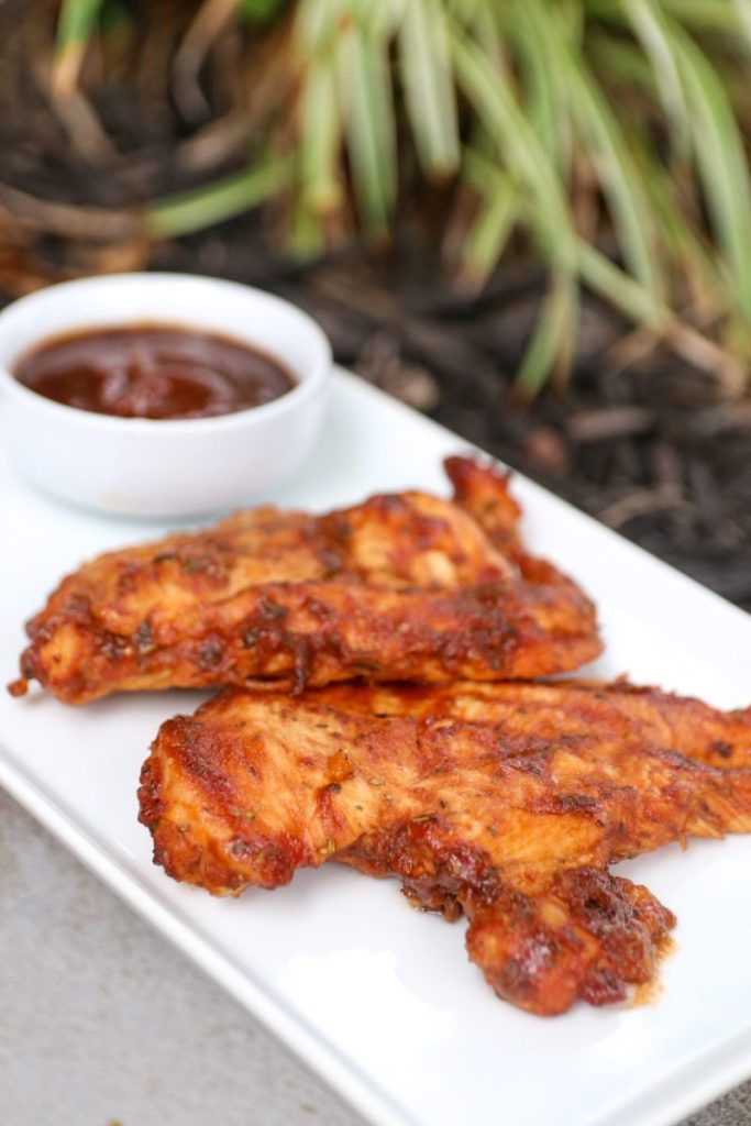 Oven Roasted BBQ Chicken