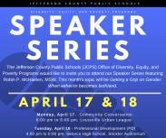 Speaker Series - Office of Diversity, Equity & Poverty
