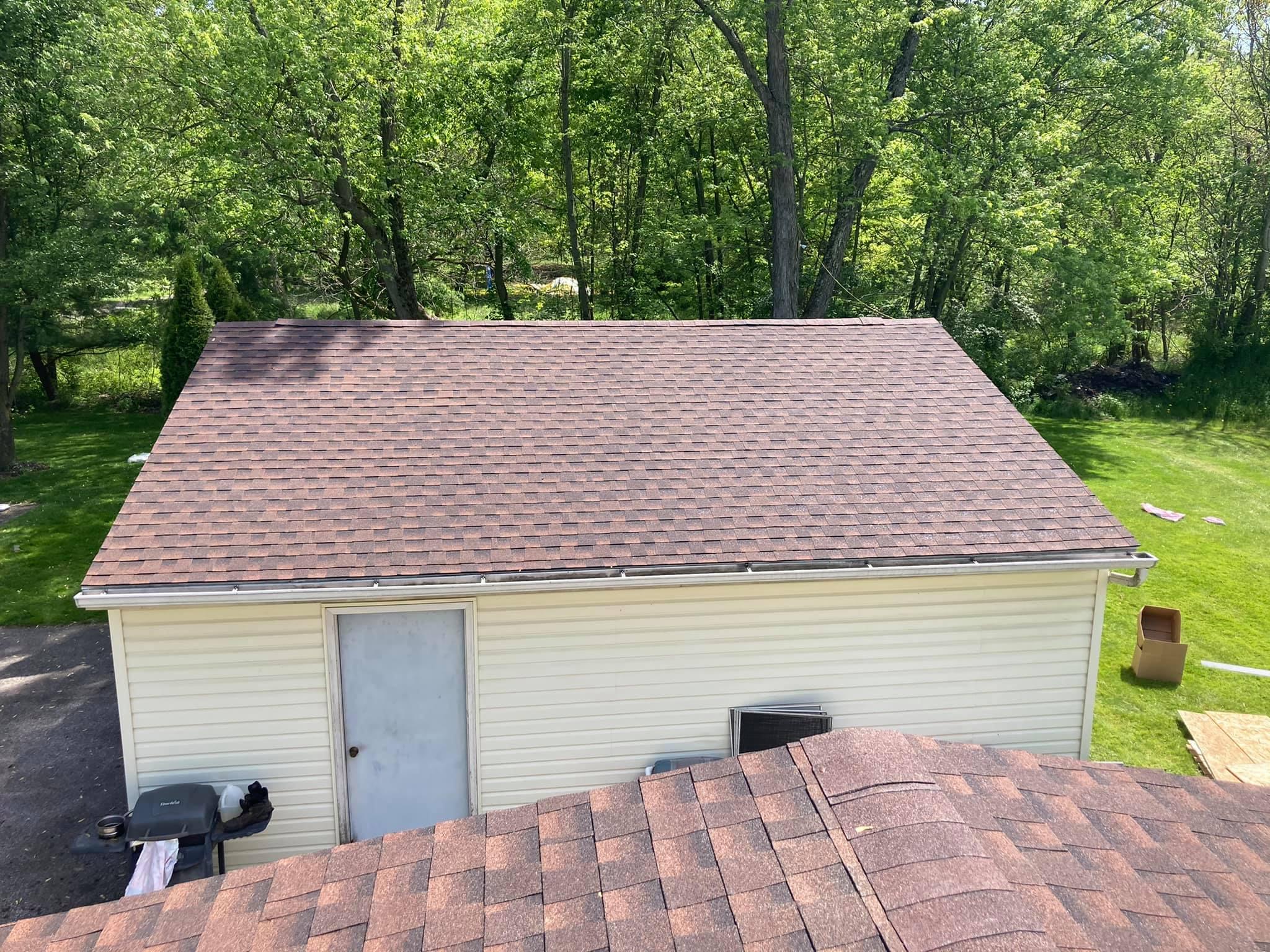 craig roofing red garage